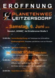 Einladung Planetenweg Leitzersdorf mittel